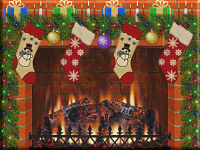 Christmas Fireplace PNG