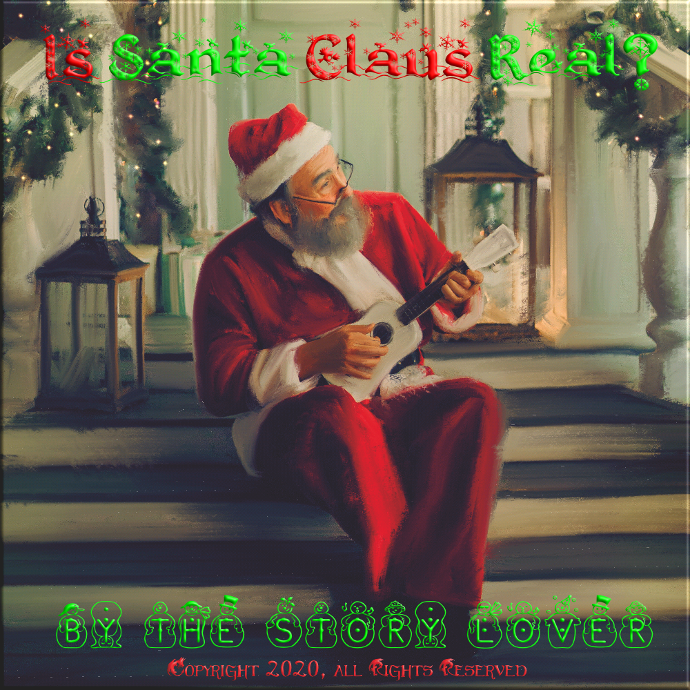 Is Santa Real? Cover PNG