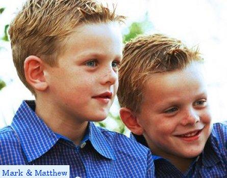Matthew and Mark James