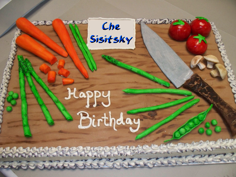 Che's Birthday Cake