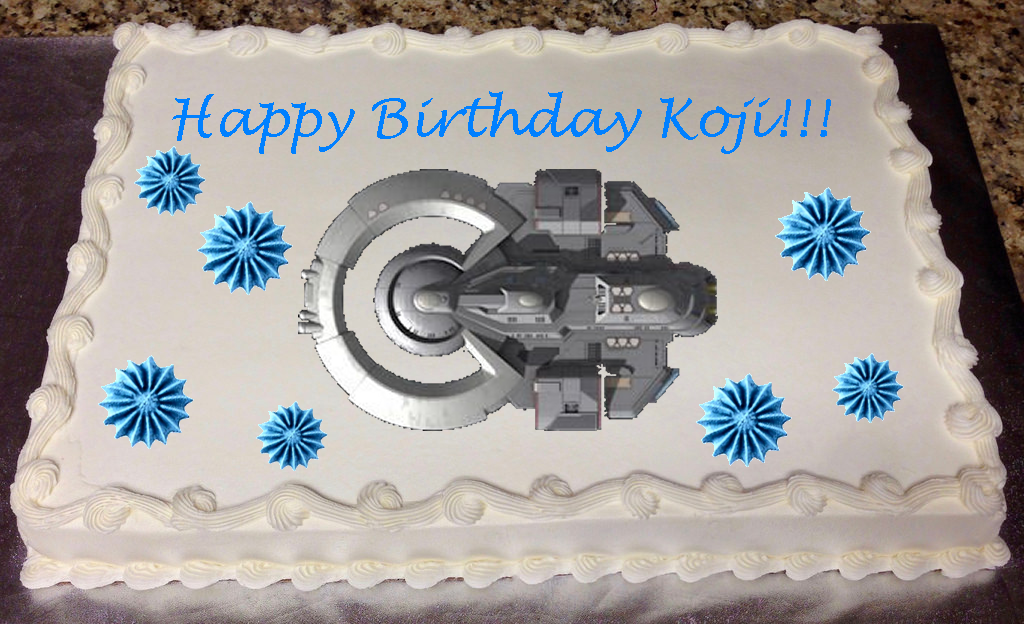 Koji's Birthday Cake