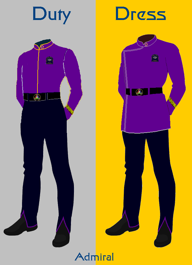 Admiral Duty AND Dress Uniforms