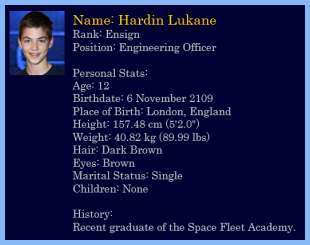 Profile of Hardin Lukane