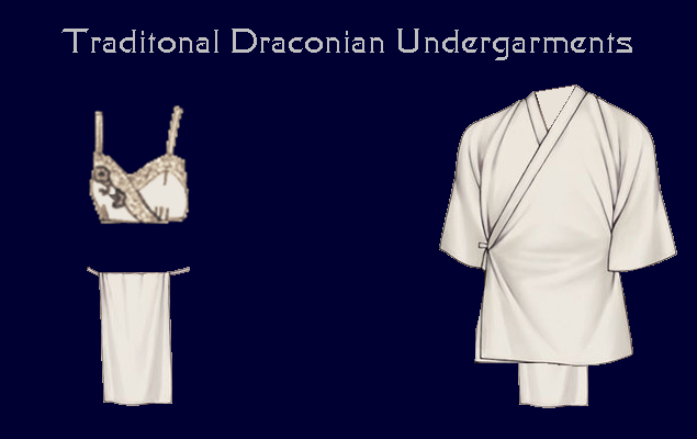 Draconian Female Undergarments