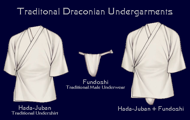 Draconian Male Undergarments
