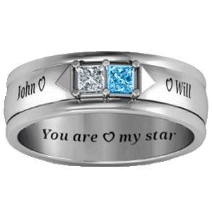 Will's Engagement Ring to John
