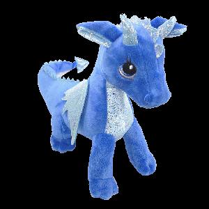 Stuffed Blue Dragon